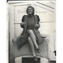 1930 Press Photo Pianist