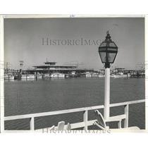 1961 Press Photo Marina Clearwater Florida - RRX84275