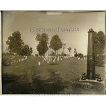 Undated Press Photo Cemetery Shiloh Mississippi - RRX78185