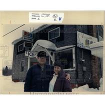 1989 Press Photo Michigan Cities Phoenix Vansville Bar - RRW68117