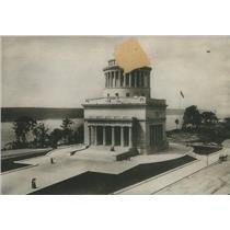 1909 Press Photo Grant Tomb Exterior Vandal Threat - RSC86863