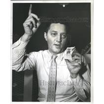 1957 Press Photo Folsom Period Arrowhead - RRW35475