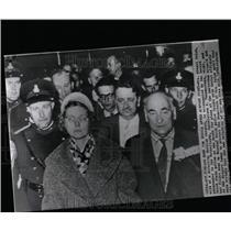 1961 Press Photo Wife Russian Chemist Alexei Golub - RRW07477