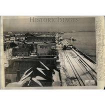 1937 Press Photo Floods at Ohio & Mississippi rivers - RRU90279