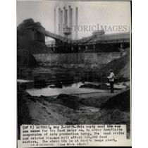 Press Photo Coal Mining Factory Workers Strike Chicago - RRX74001