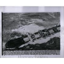 1964 Press Photo Storm at Sea - RRX54227