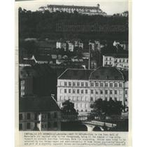1939 Press Photo Ancient Fortress Town Hall Moravia - RRX89461