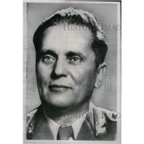 1948 Press Photo Marshall Josip Bravo Tito - RRX41175
