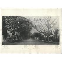 1923 Press Photo Residential Street Asuncion Paraguay - RRX85325