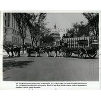 1933 Press Photo 1st Clydesdales in Washington - RRX77309