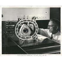 1972 Press Photo Bendix Corp. Wankel Engine Rotor - RRW53795