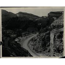 Press Photo Zion National Park Utah Mt Carmel Highway - RRX78691