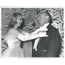 1951 Press Photo Amond Patricia Ann Touscany