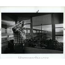 1987 Press Photo drawbridge booth at Old Milwaukee
