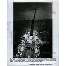 1977 Press Photo Morgenthau Coast Guard Vessel NDWA - RRX71721
