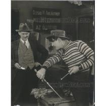 Press Photo Lionel Barrymore/Actor/Radio/John Gilbert