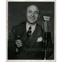 1946 Press Photo Jimmy Durante Garry Moore Radio CBS - RRX72709