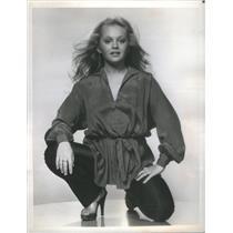 1980 Press Photo Charlene Tilton American Actress Singer In Dallas - RSC96659