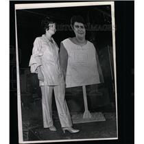 1969 Press Photo Weight Watchers Fashion Show Cohen