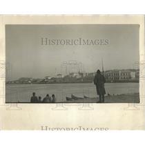 1927 Press Photo Romanian Tuclia Rhine black sea Boat - RRX81511