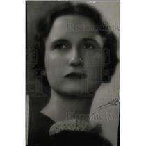 1935 Press Photo Elmira Jean Elliott Denver Socialite - RRW95887