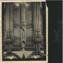 1936 Press Photo Chapel organ at Chicago University - RRW35577