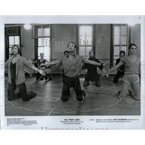 1980 Press Photo All That Jazz Film Actors Rehearsal - RRW01965