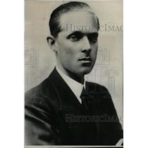 Press Photo Spanish Prince Alfonso Official Portrait - RRW99735