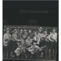 1940 Press Photo Raton High School Hillbillies - RRX82147