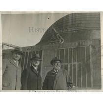 1929 Press Photo Phillip Fex Max Adier Oskar Von Miller director Museum Munich