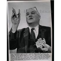 1964 Press Photo DR. LOUIS S. B. LEAKEY ANTHROPOLOGIST - RRW99541