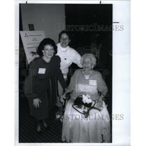 1992 Press Photo Drs. June Osborne & Marjorie Peebles - RRX58823