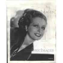 1932 Press Photo Sari Maritza English Actress Apartment Damage - RSC06779