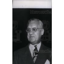 Undated Press Photo William Harridge President American League - RRX38785