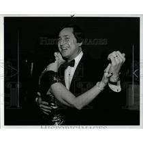 1987 Press Photo Gov. James Blanchard Inaugural Ball