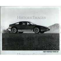 1986 Press Photo 1987 Pontiac Fiero GT - RRX55105