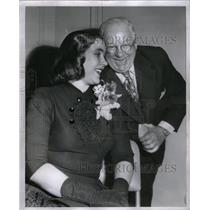 1952 Press Photo Marge Adams & Jack Adams - RRX58775