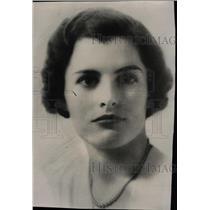 1936 Press Photo Margaret Patricia Harrington Socilist - RRW72889