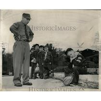 1954 Press Photo Boy Scouts tackle conservation at Park - RRW56419