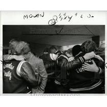 1986 Press Photo Romulus High School slaying