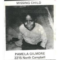 1979 Press Photo Pamela Gilmore Missing Child North Campbell North Carolina