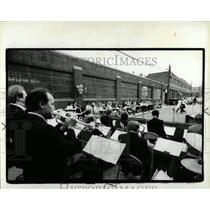 1986 Press Photo Detroit restaurant warehouse - RRW90075