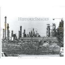 1989 Press Photo Salt Mine In Detroit