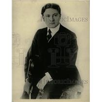 1923 Press Photo Leta Schkolwicj Violinist Concert Lyn - RRW81549