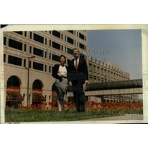 1989 Press Photo New Center Detroit Michigan Historic - RRW90723