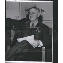1913 Press Photo Louis Historicman Detroit Physician