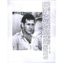 Press Photo Frederick Olivi Co-Pilot Of Second Plane That Dropped The Atom Bomb