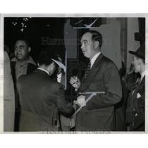 1941 Press Photo Lieut John McCarthy Former Police - RRW05771