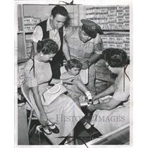 1960 Press Photo Michigan National Guard Station - RRW32867