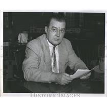 1954 Press Photo Alphonse Kale Detroit Police - RRX97841